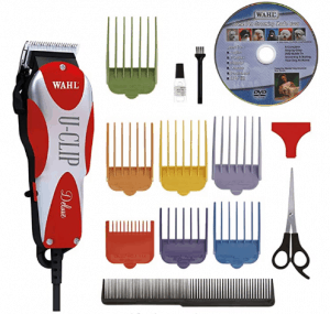 Wahl Professional Animal Deluxe U-Clip and Grooming Kit