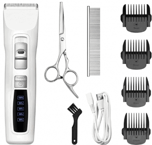 Bousnic Dog Clippers 2-Speed Cordless