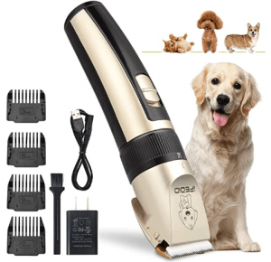 TZCER Dog Clippers Professional Dog Grooming Kit