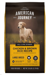 AMERICAN JOURNEY LARGE BREED CHICKEN & BROWN RICE PROTEIN FIRST RECIPE DRY DOG FOOD