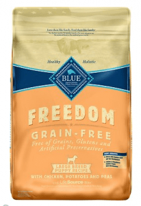 BLUE Freedom Grain-Free Chicken Recipe for Large Breed Puppies