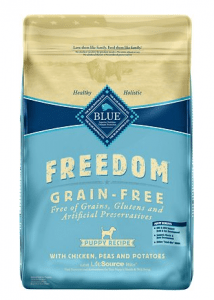 Blue Buffalo Freedom Grain-Free Natural Puppy Dry Dog Food: Chicken Recipe