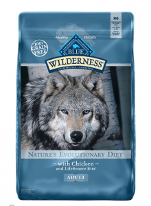 Blue Buffalo Wilderness High Protein Grain Free Natural Adult Dry Dog Food