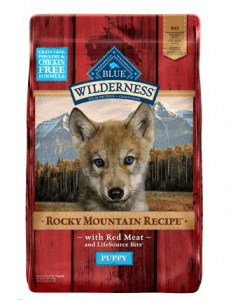 Blue Buffalo Wilderness Rocky Mountain Recipe Red Meat for Puppies