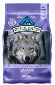 Blue Buffalo Wilderness Toy Breed Adult Chicken Recipe Grain-Free Dry Dog Food