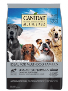 CANIDAE ALL LIFE STAGES LESS ACTIVE FORMULA DRY FOOD