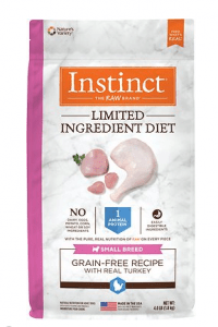 Instinct by Nature's Variety Limited Ingredient Diet Small Breed Grain-Free Turkey Recipe Dry Dog Food