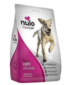 NULO PUPPY FOOD GRAIN FREE DRY FOOD WITH BC30 PROBIOTIC AND DHA