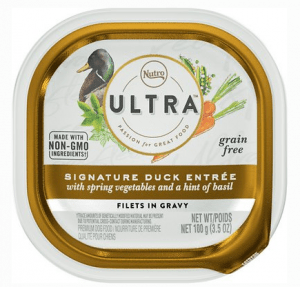 Nutro Signature Duck Entree Grain-Free Filets in Gravy