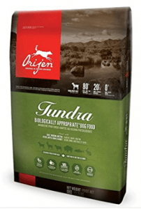 ORIJEN TUNDRA WHOLEPREY GRAIN-FREE DOG FOOD