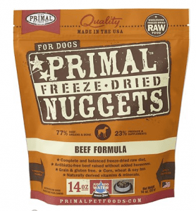 Primal Freeze-Dried Nuggets Beef Formula Dog Food