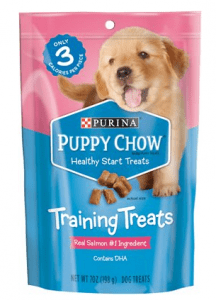 Puppy Chow Healthy Start Salmon Flavor Training Dog Treats