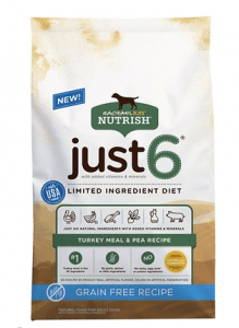 RACHAEL RAY NUTRISH JUST 6 NATURAL GRAIN-FREE LIMITED INGREDIENT DIET DRY DOG FOOD