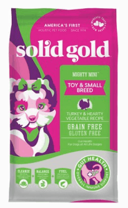 Solid Gold Mighty Mini Turkey & Hearty Vegetable Recipe Grain-Free Dry Dog Food