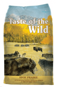 TASTE OF THE WILD GRAIN-FREE HIGH PRAIRIE