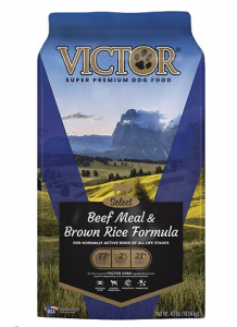VICTOR DOG FOOD SELECT BEEF MEAL AND BROWN RICE