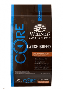 Wellness CORE Natural Grain Free Dry Dog Food (Large Breed)
