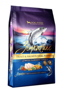 Zignature Trout & Salmon Meal Limited Ingredient Dry Dog Food