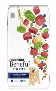 PURINA BENEFUL PRIME REAL BEEF HIGH PROTEIN DRY DOG FOOD