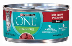 PURINA ONE NATURAL ADULT BEEF GRAIN-FREE WET CAT FOOD