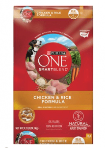 PURINA ONE SMARTBLEND CHICKEN & RICE ADULT FORMULA DRY DOG FOOD