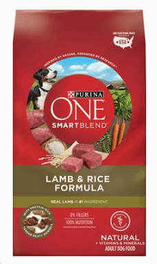 PURINA ONE SMARTBLEND LAMB AND RICE FORMULA